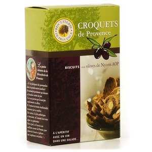 Biscuiterie de Provence - Croquet apéritifs – Olive de Nyons