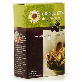Biscuiterie de Provence - Croquets de Provence - savoury Nyons olive biscuits