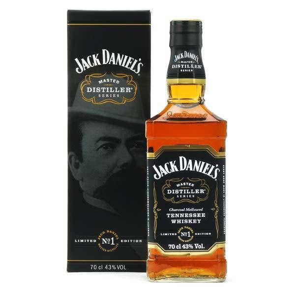 Whisky Jack Daniel's Master distiller n°1- 43%