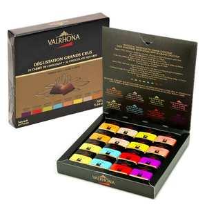 Valrhona - Grands Crus Dark & Milk Chocolate Selection - 32 squares