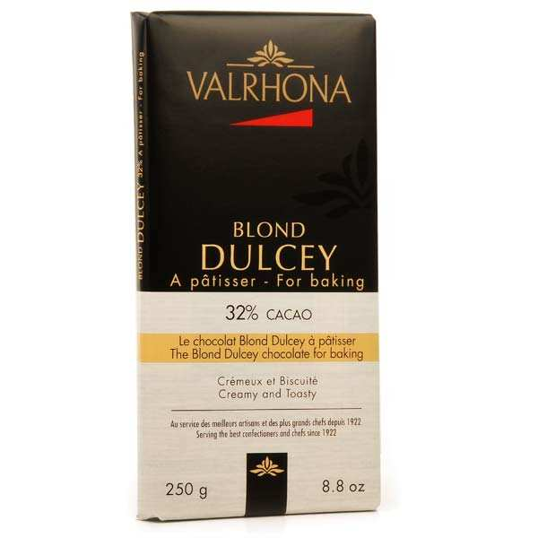 Valrhona Dulcey 32% cocoa blond chocolate