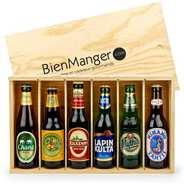 Les Ateliers de la Colagne - Caisse bois à glissière - 6 bouteilles de bière