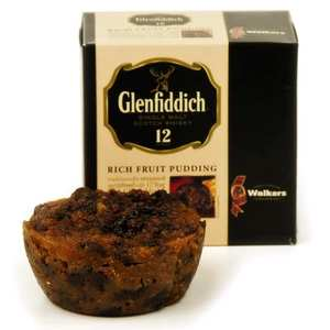 Walkers - Walkers Glenfiddich Rich Fruit Christmas Pudding