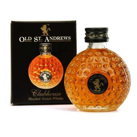 Old St Andrews - Whisky Old St Andrews Clubhouse Golf Ball bottle - Sampler - 40%