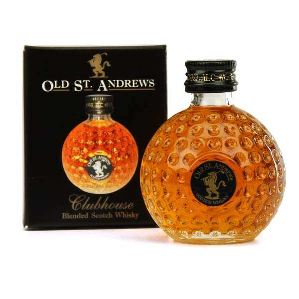 Whisky Old St Andrews Clubhouse Golf Ball bottle - Sampler - 40%