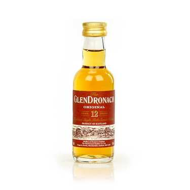 Whisky Glendronach 12 ans original- Mignonnette - 43%