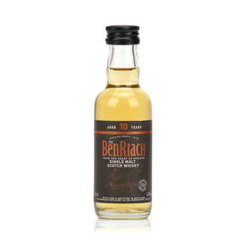 Benriach - Whisky Benriach 10 ans Curiositas - mignonnette - single malt - 46%