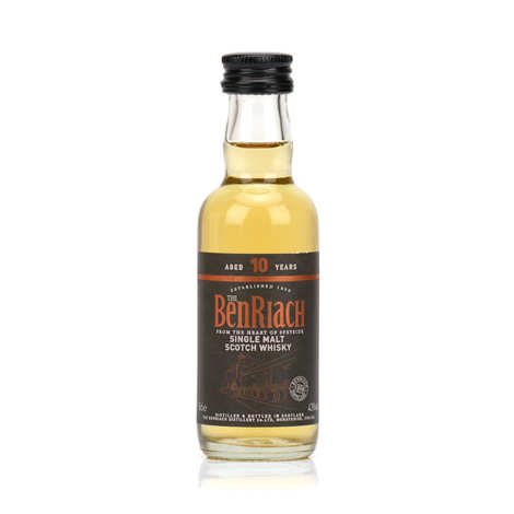 Benriach - Whisky Benriach 10 ans single malt en mignonnette 43%