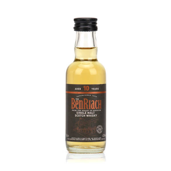 Benriach Curiositas Whisky - 10 years old - Sampler - single malt - 46%