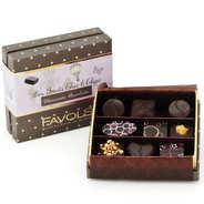 Favols - Coffret 9 bonbons chocolat et fruits - Découverte chocolatée
