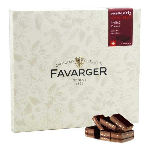 Avelines Favarger au praliné - spécialité chocolat Suisse