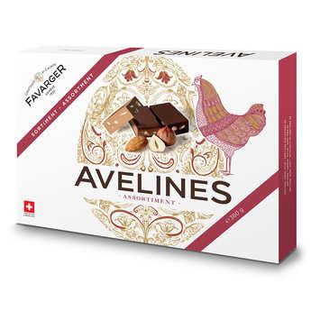 Favarger - Avelines Favarger - Assortiment de chocolats pralinés suisses