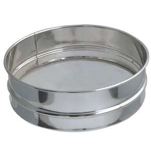 de Buyer - Stainless Steel Flour Sifter - 21cm Diameter