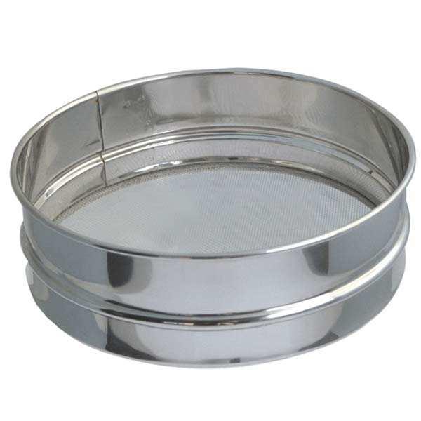 Stainless Steel Flour Sifter - 21cm Diameter
