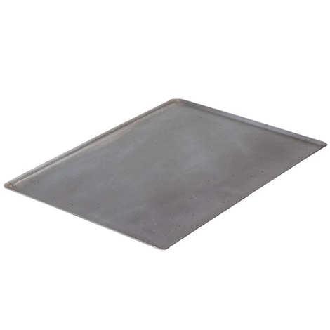 de Buyer - Plaque bords pincés en tôle d'acier - La lyonnaise - 40 x 30cm