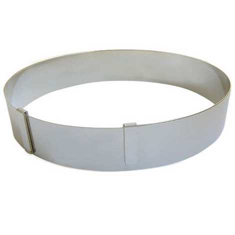 de Buyer - Extendable Circular Stainless Steel Cake Mould