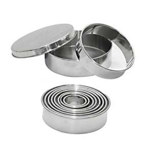 de Buyer - Box of 9 Stainless Steel Cutters