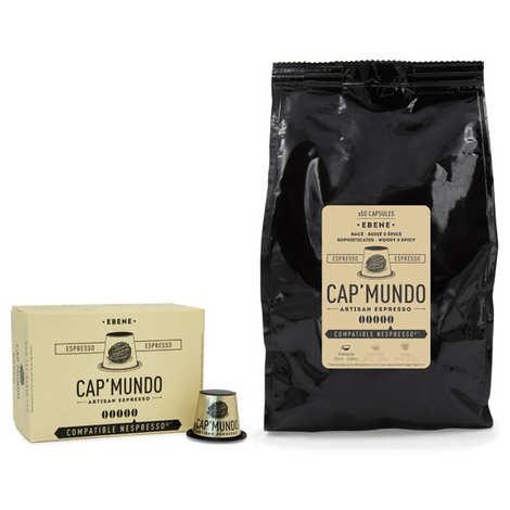 Cap'Mundo - Café Ebène, capsules compatibles Nespresso® - Force 5/5