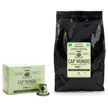 Café Copaiba bio, capsules compatibles Nespresso® - Force 3/5
