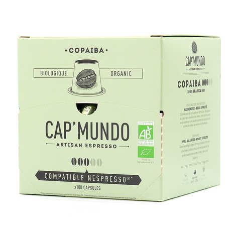 Cap'Mundo - Café Copaiba - Nespresso® compatible capsules - Strength 3/5