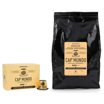 Cap'Mundo - Café Zebrano - Nespresso® compatible capsules - Strength 3/5