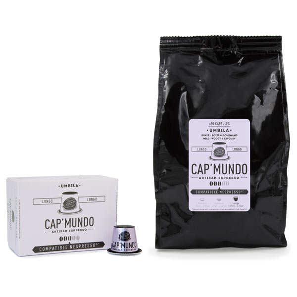 Café Umbila Lungo - Nespresso® compatible capsules - Strength 3/5