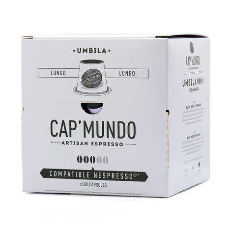 Cap'Mundo - Café Umbila lungo, capsules compatibles Nespresso® - Force 3/5