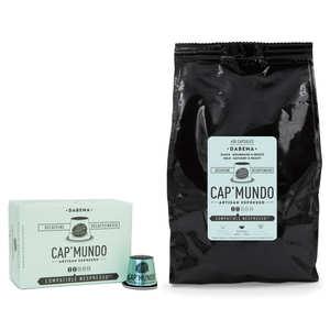 Cap'Mundo - Café Dabéma Déca, capsules compatibles Nespresso® - Force 2/5