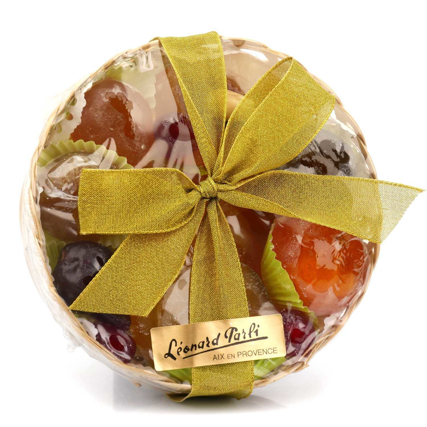 Basket of Candied Fruits