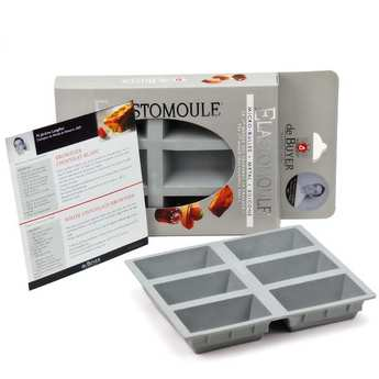 de Buyer - Mini Cakes Mould - Elastomoule