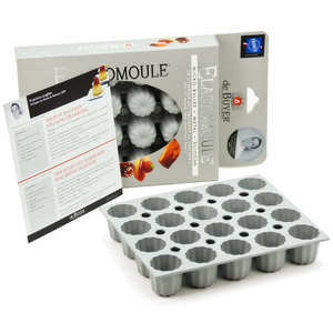 de Buyer - Mini Canelés Mould – Elastomoule
