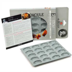 de Buyer - Moule à mini madeleine – Elastomoule