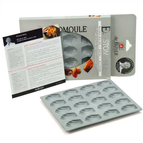 Mini Madeleines Mould – Elastomoule