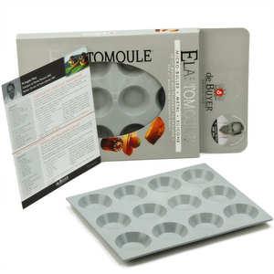 de Buyer - Mini Tartlets Mould – Elastomoule