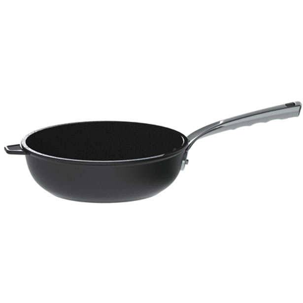 Sauté 'Choc Extreme' Deep Frying Pan - de Buyer