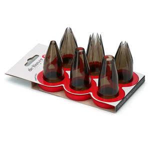 de Buyer - 6 Polypropylene Piping Nozzles
