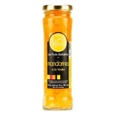 Vergers de Gascogne - Mandarins in Vodka Syrup
