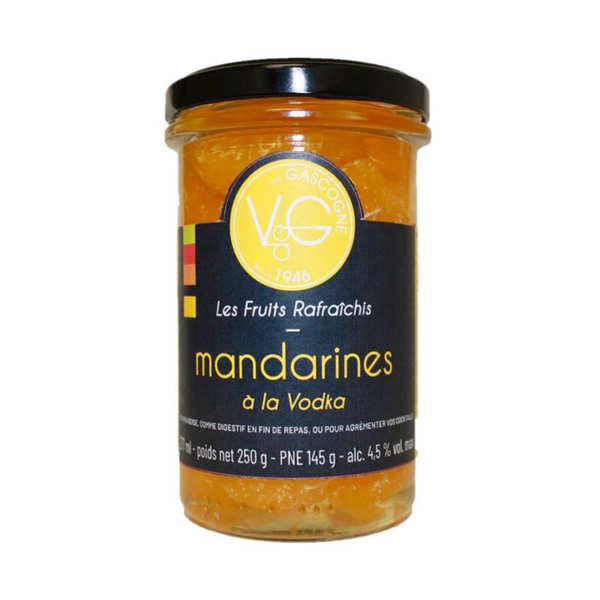Mandarins in Vodka Syrup