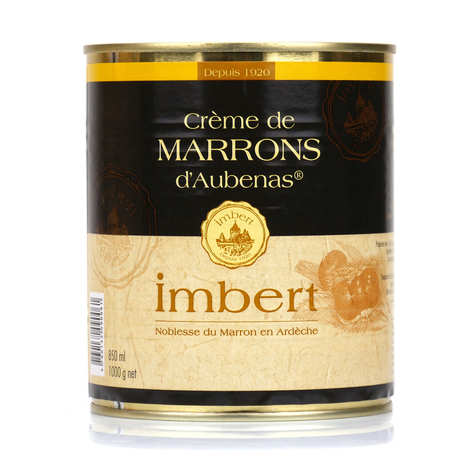 Marrons Imbert - Chestnut Purée from Aubenas big box