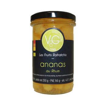Vergers de Gascogne - Mini ananas rafraîchis au Rhum