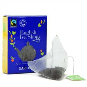 English Tea Shop - Thé Earl Grey bio - sachet individuel