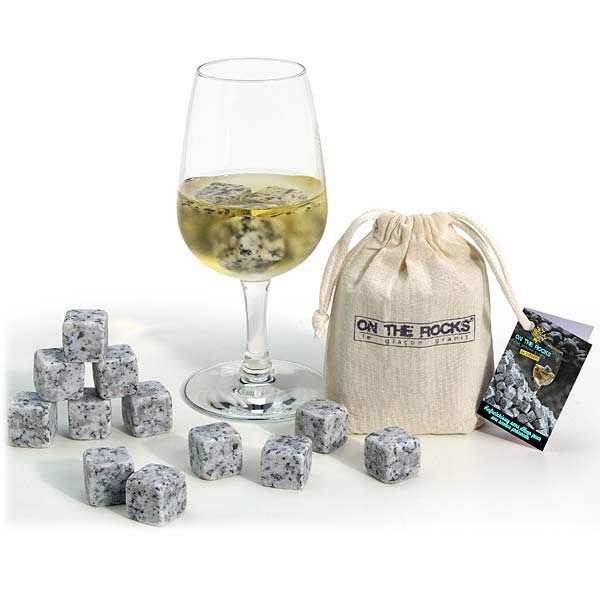 Granite Ice Cubes from Sidobre