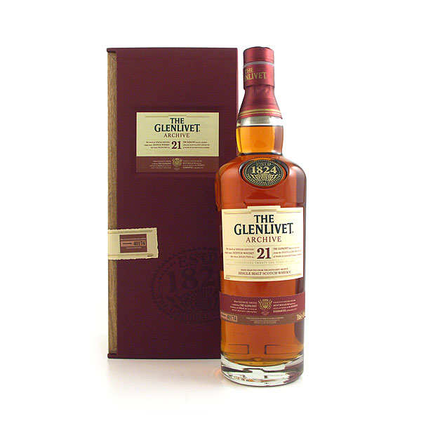 Whisky Glenlivet Archive 21 ans d'âge