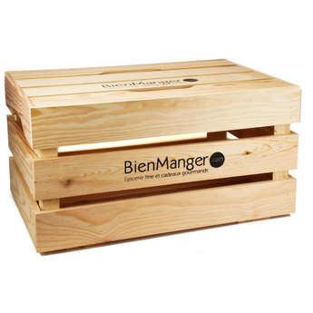 Les Ateliers de la Colagne - Grand coffre bois avec couvercle
