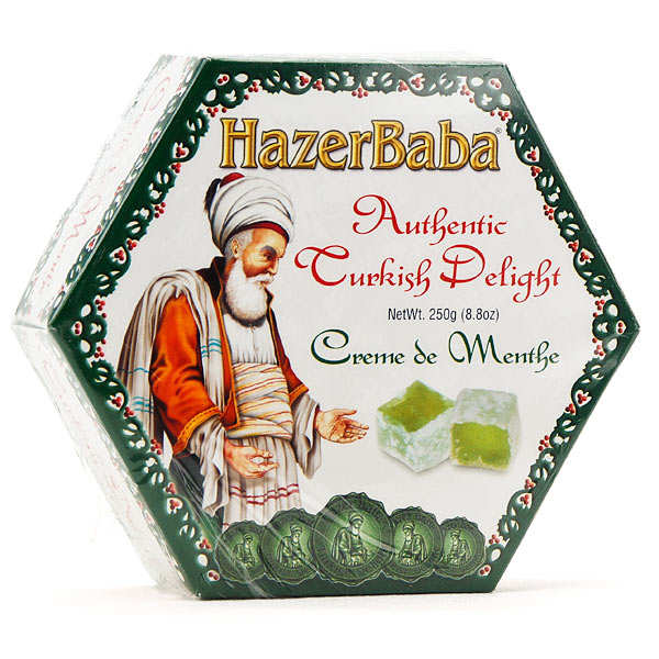 Turkish Delight with Mint