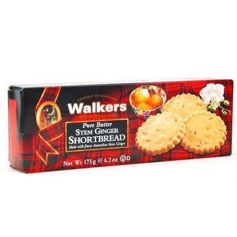 Walkers - Shortbread Walkers - Pur beurre au gingembre confit