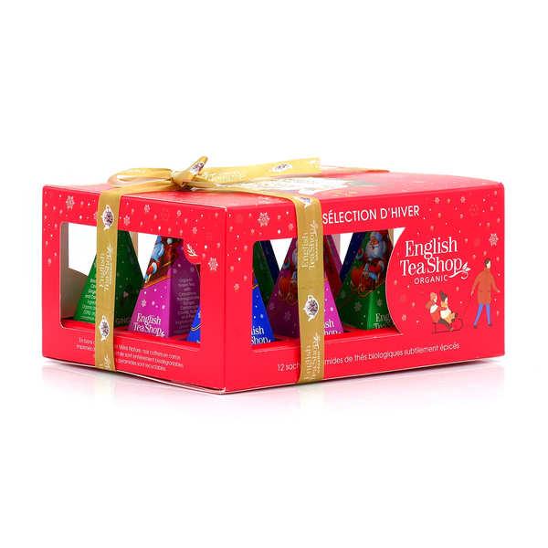 Coffret de thés de Noël bio - Vacances d'Hiver