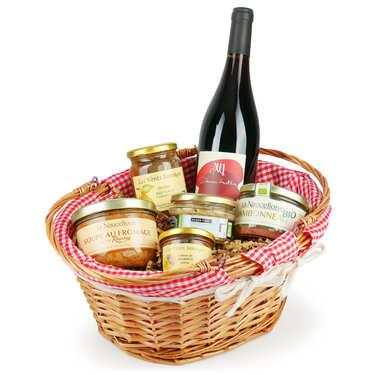 Panier Aveyron Gourmand