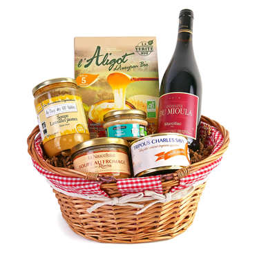 Specialities from Aveyron gift hamper
