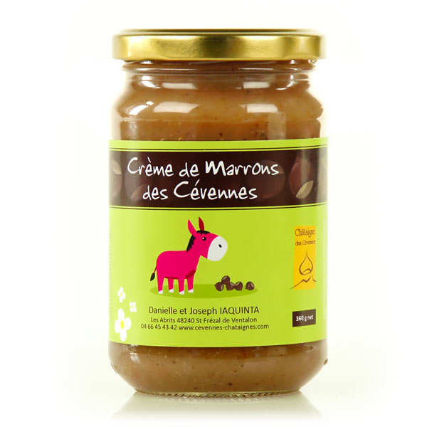 Traditional chestnut cream from the Cevennes